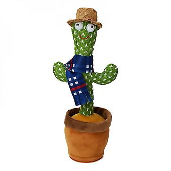 120 Songs dancing singing mimicking cactus toy plush in pot early education birthday gift mz753