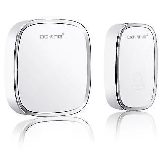 Door bells chimes wireless waterproof door bell wall plug-in remote control doorbell 1 transmitter+1 receiver