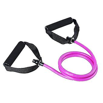 Exercise bands premium fitness elastic bands for home or office workouts purple