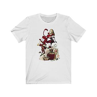 Graphic tee - alice in wonderland gifts #32 red series | gift idea, gifts for women, t shirts for women, custom shirt, graphic tees for women, t-shirt