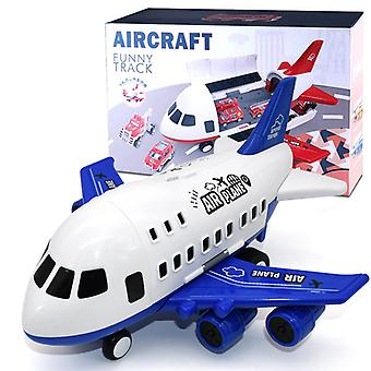 Grand jouet d'avion pour enfants Modèle Bleu