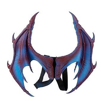 Halloween Karneval Karneval Kinder Kinderkostüm Teufel Cosplay DrachenFlügel