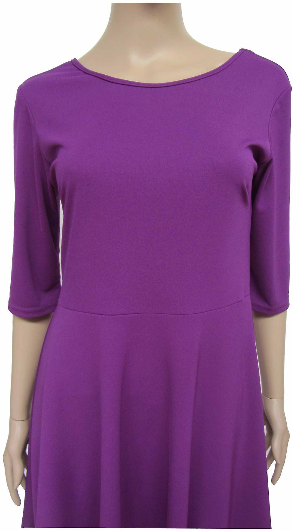 Purple Skater Dress DR482-8