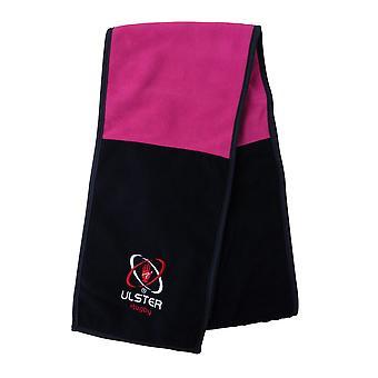 Kukri Ulster Rugby Fleece skjerf [svart/rosa]