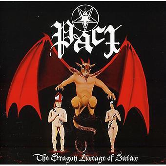 Pact - Dragon Lineage of Satan [CD] USA import