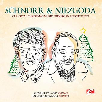 Schnorr / Niezgoda - Classical Christmas Music for Organ & Trumpet [CD] USA import
