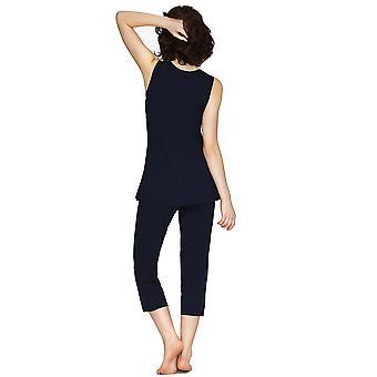 Salon Mio Santiago Micro Modal bleu impression Pyjamas mis 132C491B
