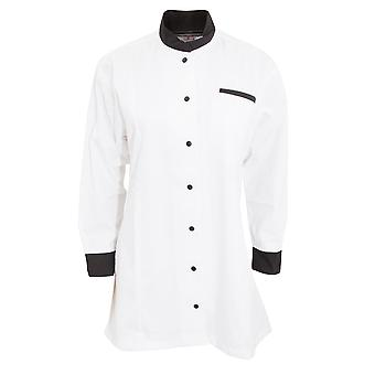 Dennys Womens/Ladies Contrast Chef/Food Service Tunic