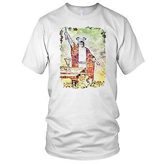 Magiker - Yoga meditasjon Buddha Mens T skjorte