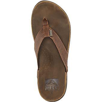 Sandales en cuir Reef J-Bay III à Camel