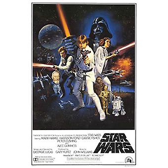 Star Wars Movie Poster Print Poster Poster Print