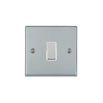 Hamilton Litestat Hartland Bright Chrome 1g 250W M-Way Touch Mast BC/WH
