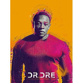 Dr Dre Poster Producer Rapper Music Photo Art Print (18x24)