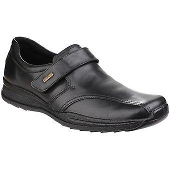 Cotswold Birdlip Mezczyzni wodoodporne skóry dotykowy mocujących buty wizytowe