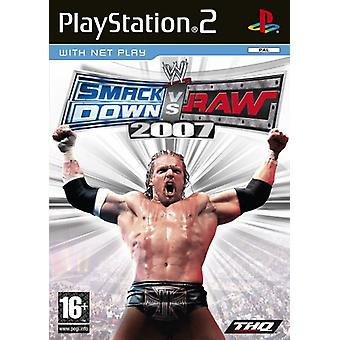 WWE SmackDown vs. RAW 2007 (PS2) - New Factory Sealed
