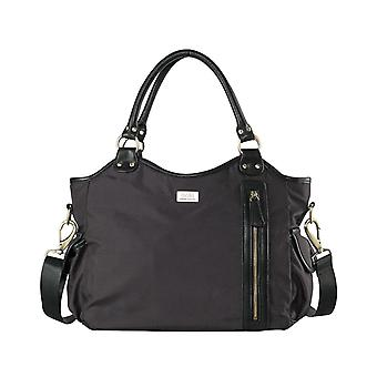 Isoki Hobo Angel Black Lennox - Changing Bag