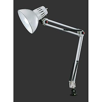 Trio d'éclairage Tajo moderne blanc métal lampe de serrage
