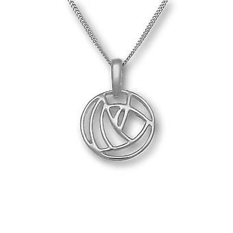 Sterling Silver Traditional Scottish Charles Rennie Mackintosh Hand Crafted Necklace Pendant - P276