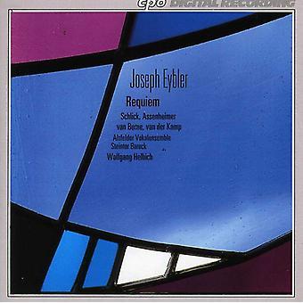 J. Eybler - Joseph Eybler: Requiem in C Minor [CD] USA import