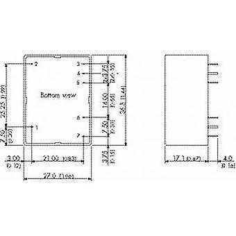 TracoPower TMPM 04105 AC/DC PSU modul 0,8 A 4 W 5 V DC