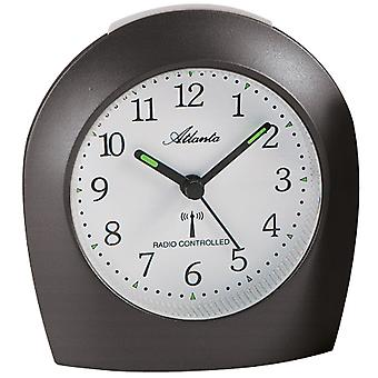 very quiet alarm clock metallic quietly creeping second light function