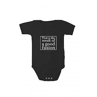 Baby body with pressure balance of a good fusion in different languages