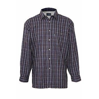 Mestari miesten Sherbourne Fleece vuorattu paita (kpl pakkaus 2)