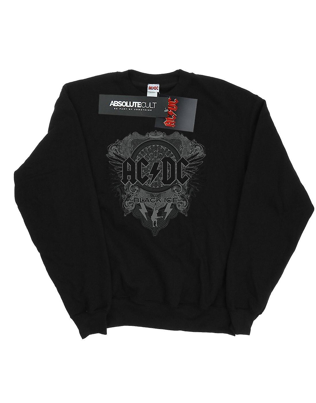 AC/DC Boys Black Ice Sweatshirt