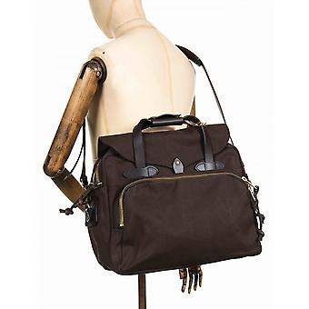Filson căptușit computer bag-Brown