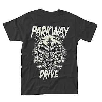 Parkway Drive Wolf & Bones T-Shirt