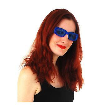 Verres de lunettes Blue glitter