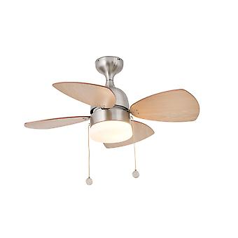 Ceiling fan Mediterraneo Nickel 81.5cm / 32