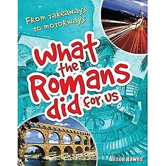 Wat de Romeinen deed voor ons: de leeftijd van 7-8, onder gemiddelde lezers (White Wolves Non fictie)