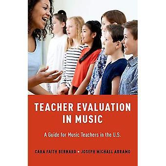 Bewertung der Lehrer in der Musik - ein Leitfaden für Musiklehrer in den USA durch
