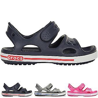 Унисекс Детская обувь легкий летний отдых сандалии Crocs Crocband II