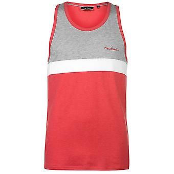 Pierre Cardin heren knippen en naai de getapete Vest zonder mouwen Tank Top T-Shirt T Shirt