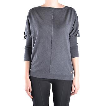 Massimo Rebecchi Ezbc214004 Women's Grey Wool Sweater