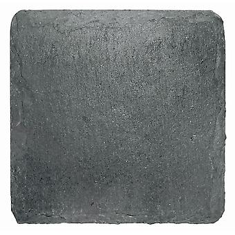 I Style Natural Slate Handmade Coasters, Set of 4