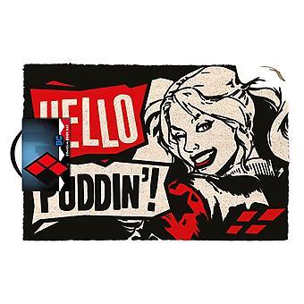 Harley Quinn Hello Puddinin ovimatto