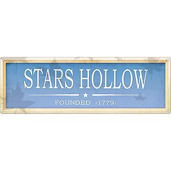 Grindstore Stars Hollow Slim Tin Sign