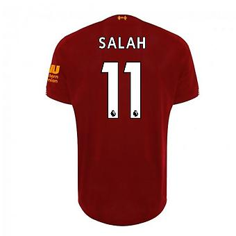 2019-2020 Liverpool Home Football Shirt (Salah 11)