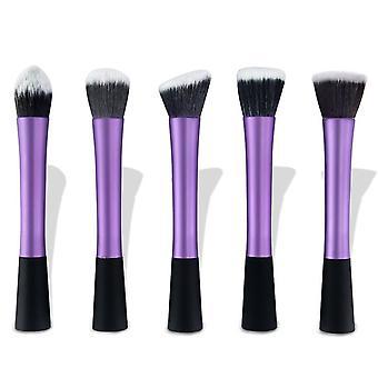 5 Purple make-up/makeup børster av beste kvalitet