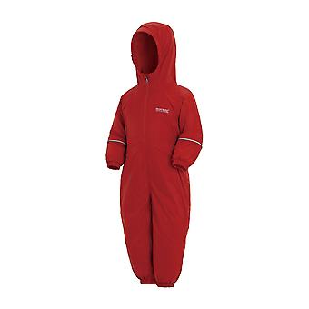 Regatta Kids Splosh III Plain Breathable Waterproof Puddle Suit