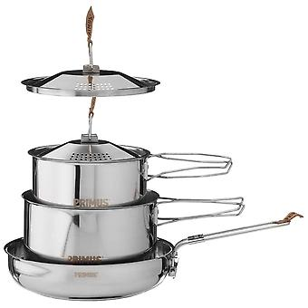Primus Silver CampFire CookSet Stainless Steel Small