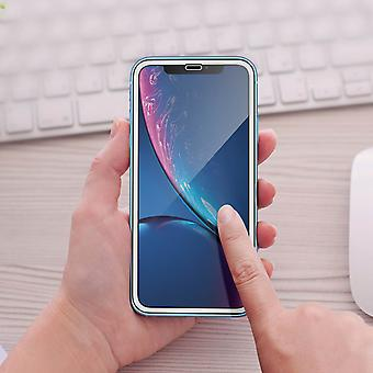 Forever iPhone XR Screen Protector Tempered Glass 9H 5D Film - White