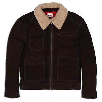 Edwin Denim Survival Leather Jacket
