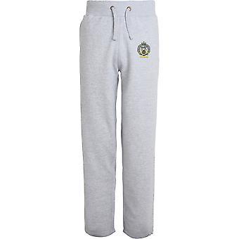 Royal Hamphire Regiment veterano-licenciado British Army bordado aberto hem Sweatpants/jogging Bottoms