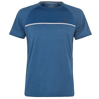 Asics Mens SN94 Running Sports Short Sleeve Crew Neck T Shirt Tee Top
