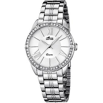 Lotus trendy Quartz Analog Woman Watch with 18130/1 Stainless Steel Bracelet