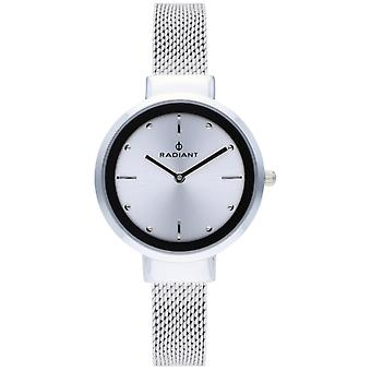 Radiant iris Quartz Analog Woman Watch with RA510601 Stainless Steel Bracelet